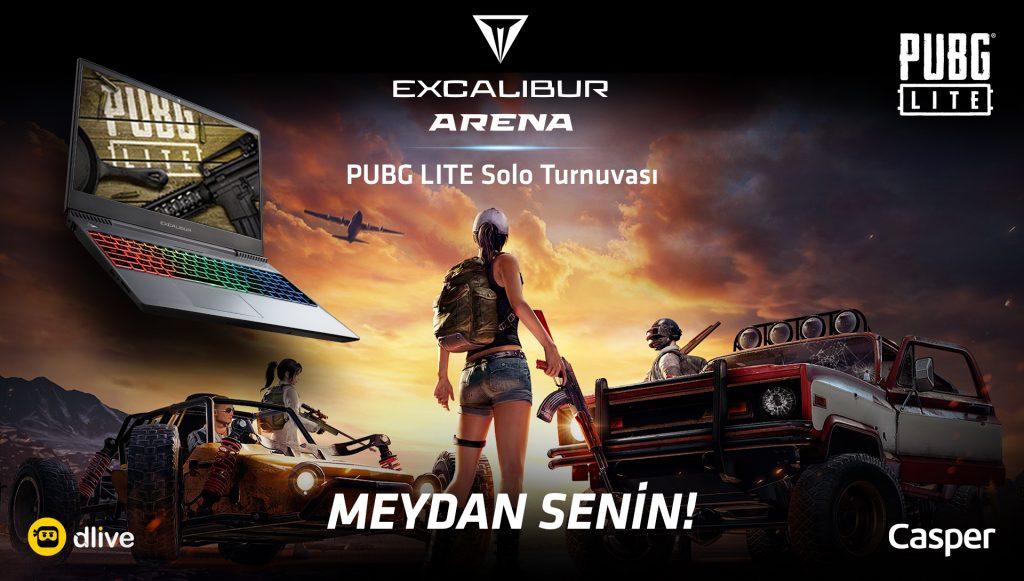 Excalibur Arena Begins, PUBG Lite Players Go To The Tournament!