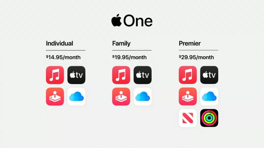 Apple announced Apple One - a single subscription for all services of the company